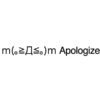 Apologize emoticons(emoticones)