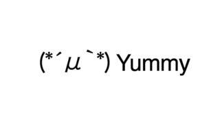 Yummy emoticons(emoticones)