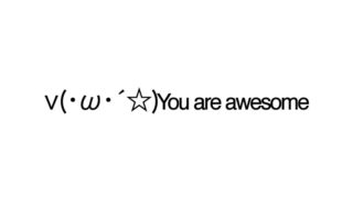 You are awesome emoticons(emoticones)