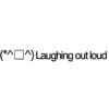 Laughing out loud emoticons(emoticones)