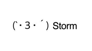 Storm emoticons(emoticones)